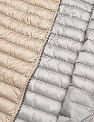 Colmar - LADIES DOWN JACKET - puffer vests - toast-light steel - 4