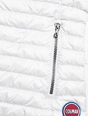 Colmar - LADIES DOWN JACKET - puffer vests - white-light steel - 3