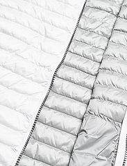 Colmar - LADIES DOWN JACKET - puffer vests - white-light steel - 4