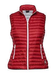 LADIES DOWN VEST - 193 HERMES-LIGHT STEEL