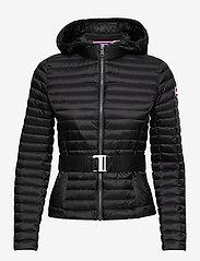 Colmar - LADIES DOWN JACKET - down- & padded jackets - black-light steel - 0