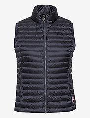 Colmar - LADIES DOWN JACKET - puffer vests - navy blue-light steel - 0