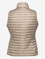 Colmar - LADIES DOWN JACKET - puffer vests - toast-light steel - 1