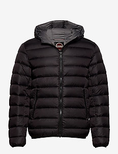 MENS DOWN JACKET - fôrede jakker - black-spike