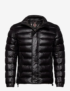 MENS DOWN JACKET - fôrede jakker - black-black