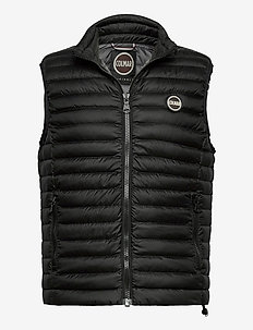 MENS DOWN VEST - vester - black-spike