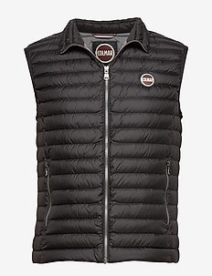 DOWN VEST - 099 BLACK-IRON