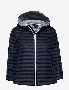 LADIES DOWN JACKET - down- & padded jackets - 068 navy blue-light stee