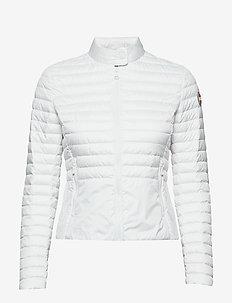 LADIES DOWN JACKET - padded jackets - 001 white-light steel