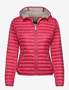 Ladies light down jacket - fôrede jakker - pink