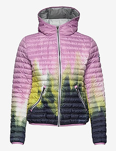 LADIES DOWN JACKET - down- & padded jackets - light stain-light steel