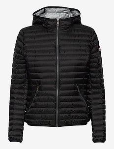 LADIES DOWN JACKET - down- & padded jackets - black-light steel
