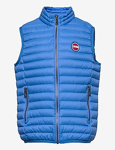 BOY  DOWN VEST - bodywarmers - pool-light steel