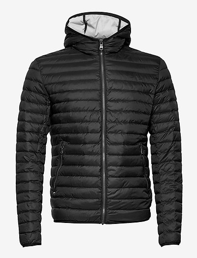 MENS DOWN JACKET - padded jackets - black-light steel