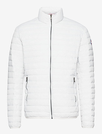 MENS DOWN JACKET - padded jackets - white-light steel
