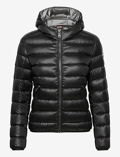 LADIES DOWN JACKET - down- & padded jackets - black