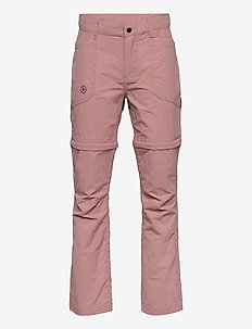 Pants w. zip off - winter trousers - ash rose