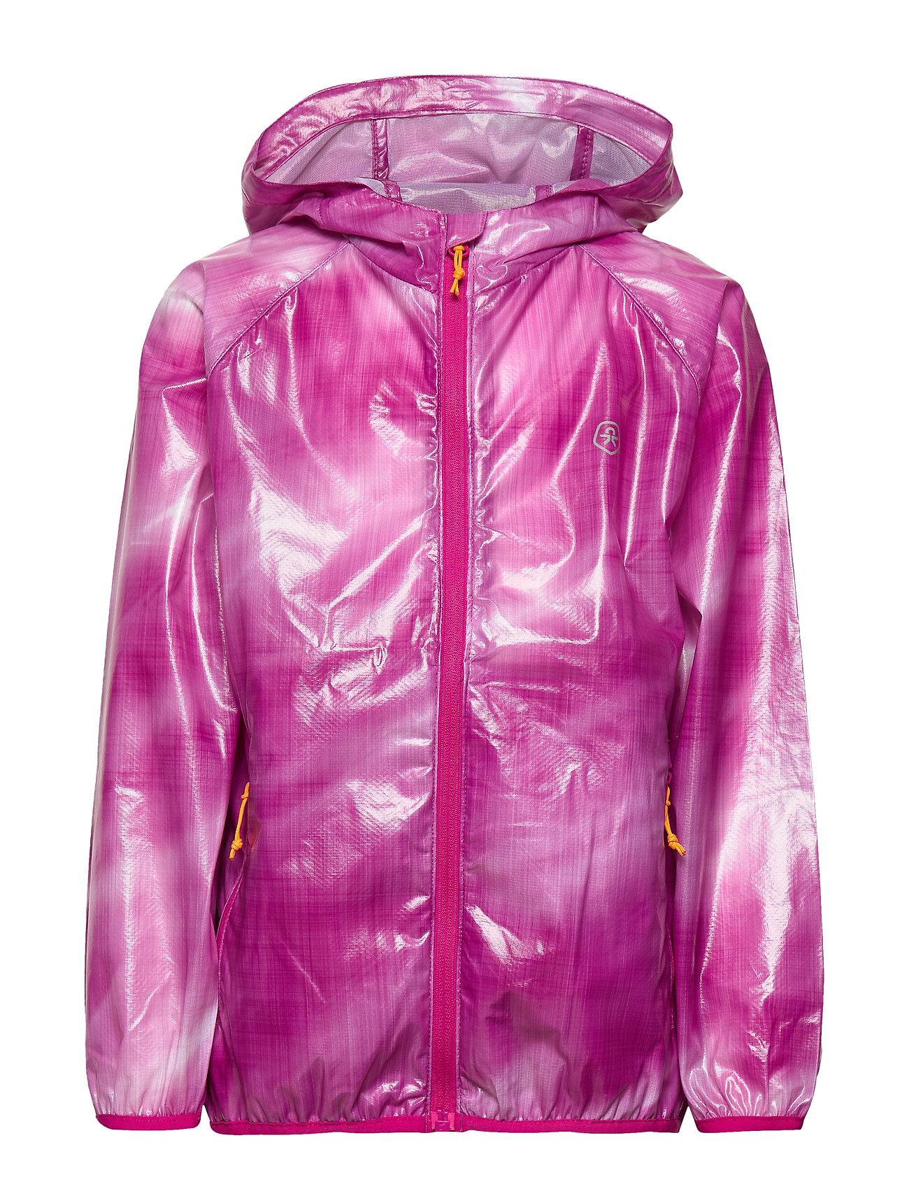 Color Kids Nairobi skin jacket - FUCHSIA RED