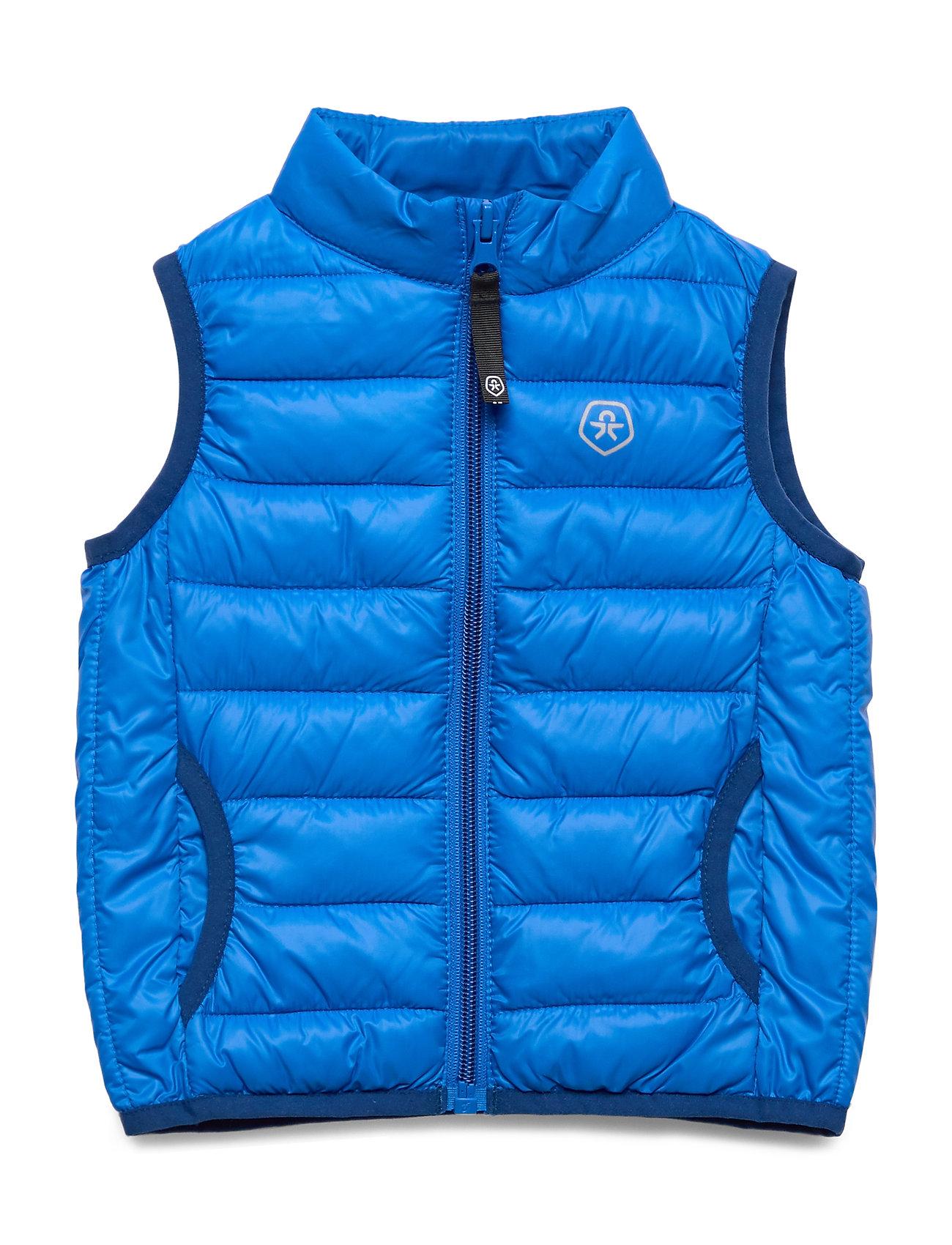 Color Kids Karl padded waistcoat - BLUE SEA