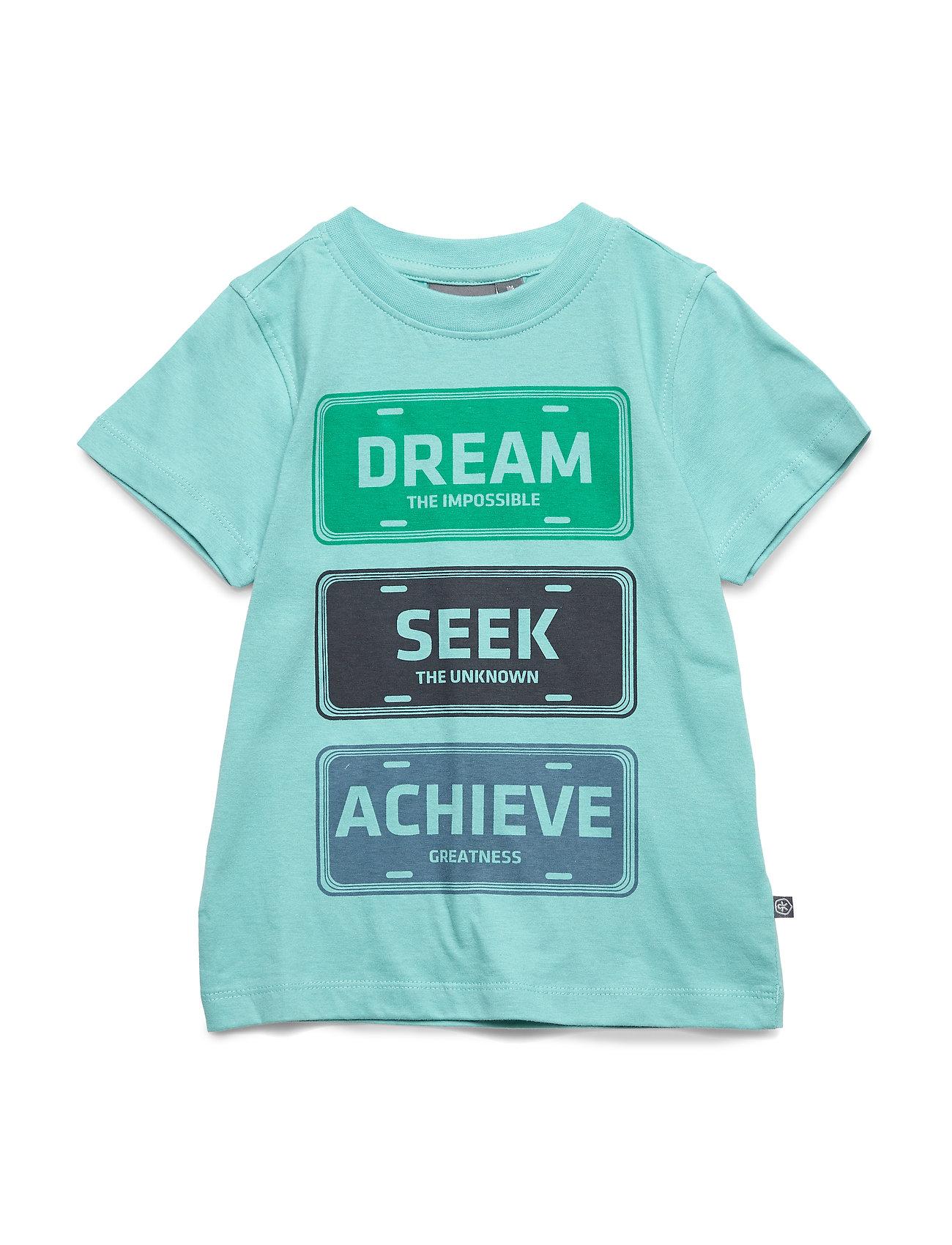 Color Kids Theo t-shirt s/s - AQUA SEA