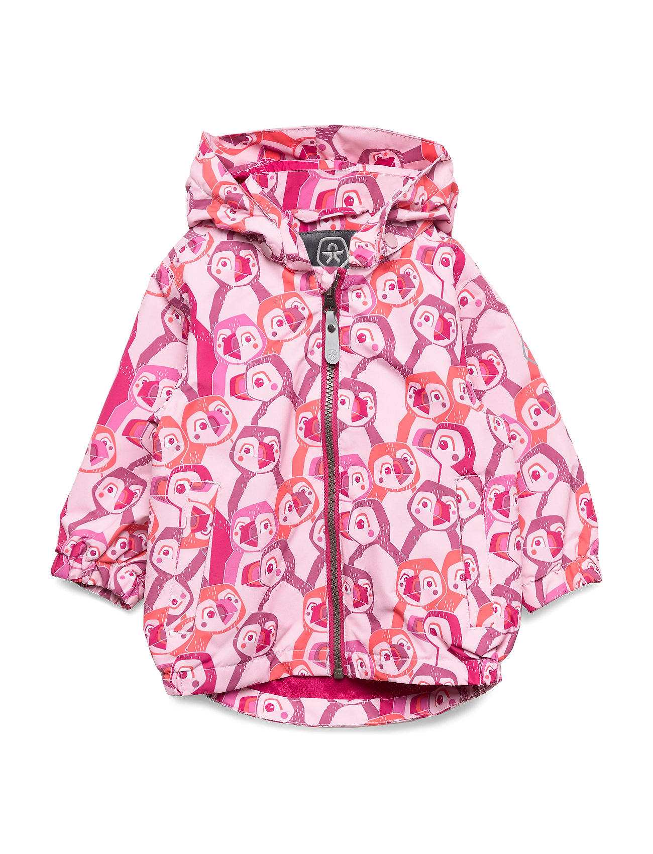 Color Kids Estelle mini jacket AOP - PINK NECTAR
