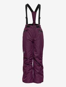 Ski pants w.pockets, AF 10.000 - winterbroeken - potent purple