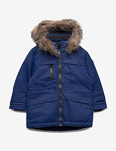 Kalata padded parka - ESTATE BLUE