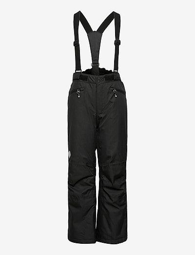 Ski pants w.pockets, AF 10.000 - winterhose - black