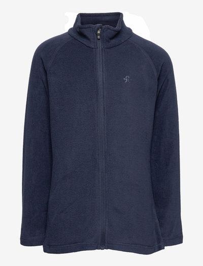 Fleece jacket, full zip - fleecejacke - total eclipse