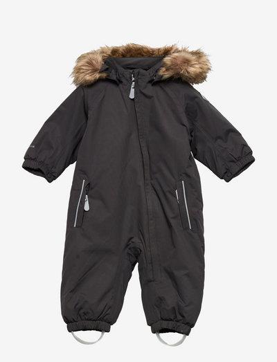 Coverall w.fake fur, AF 20.000 - schneeanzug - phantom