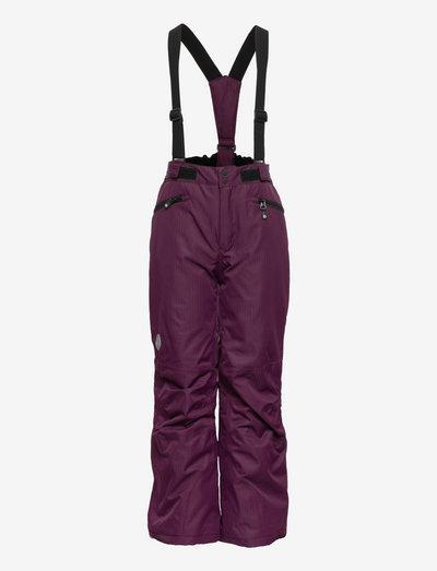 Ski pants w.pockets, AF 10.000 - winterhose - potent purple