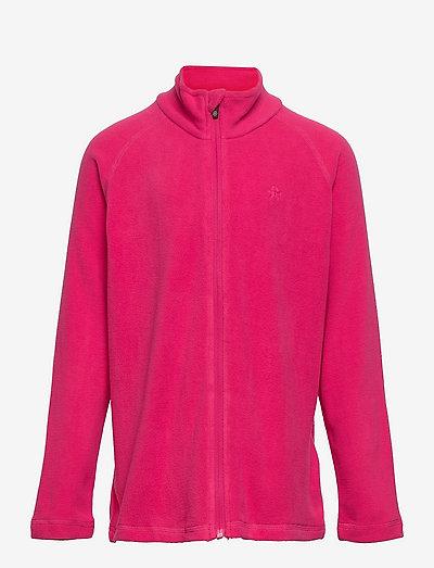Fleece jacket, full zip - fleecejacke - pink peacock