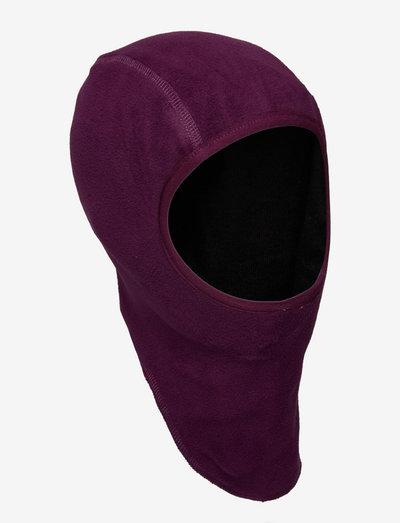 Balaclava, fleece w. windstop - sturmhaube - potent purple