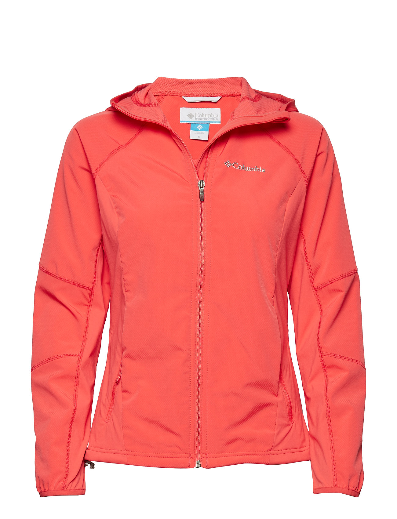 Columbia Sweet As™ Softshell Hoodie - RED CORAL