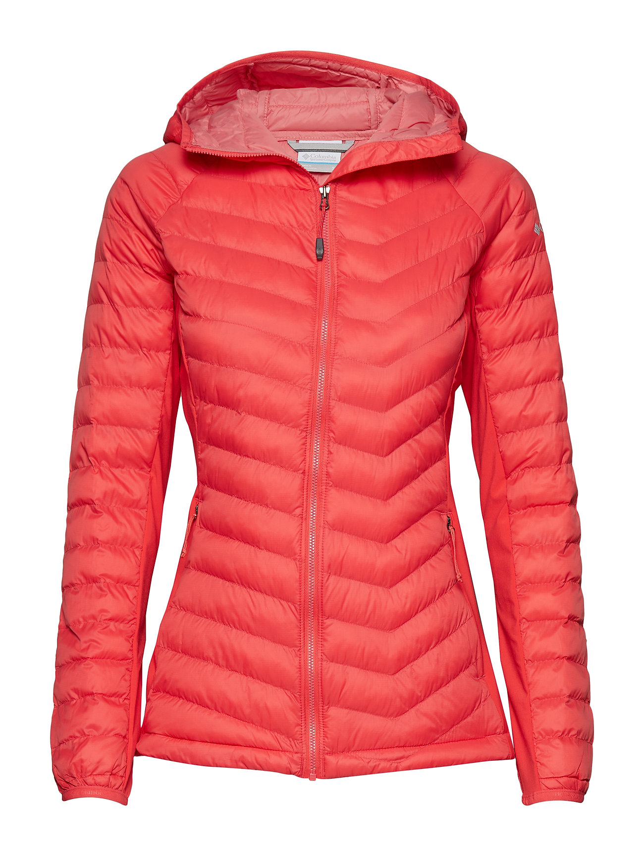 Columbia Powder Pass™ Hooded Jacket - RED CORAL