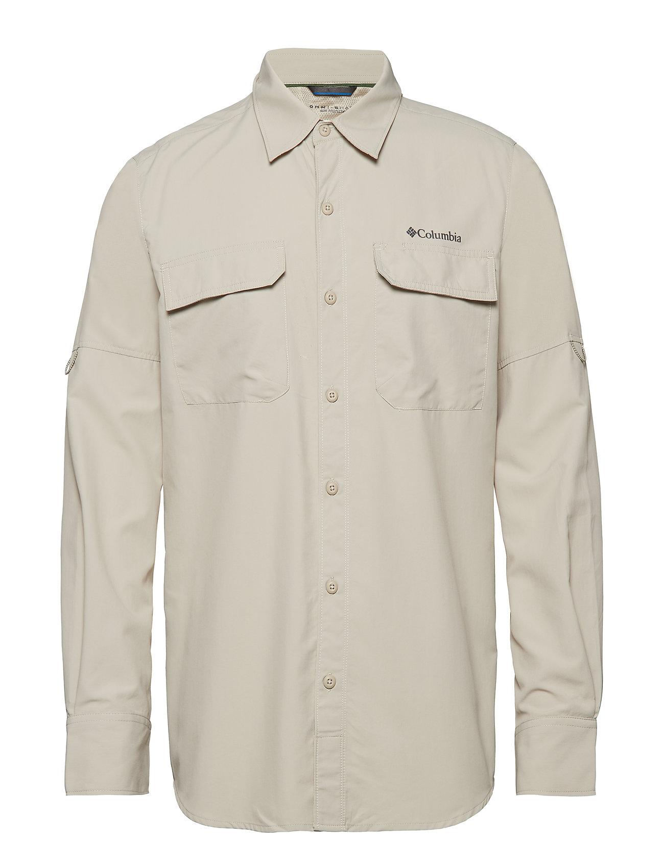 4b00e901c4c Silver Ridge™ Ii Long Sleeve Shirt (Fossil) (£32.50) - Columbia ...