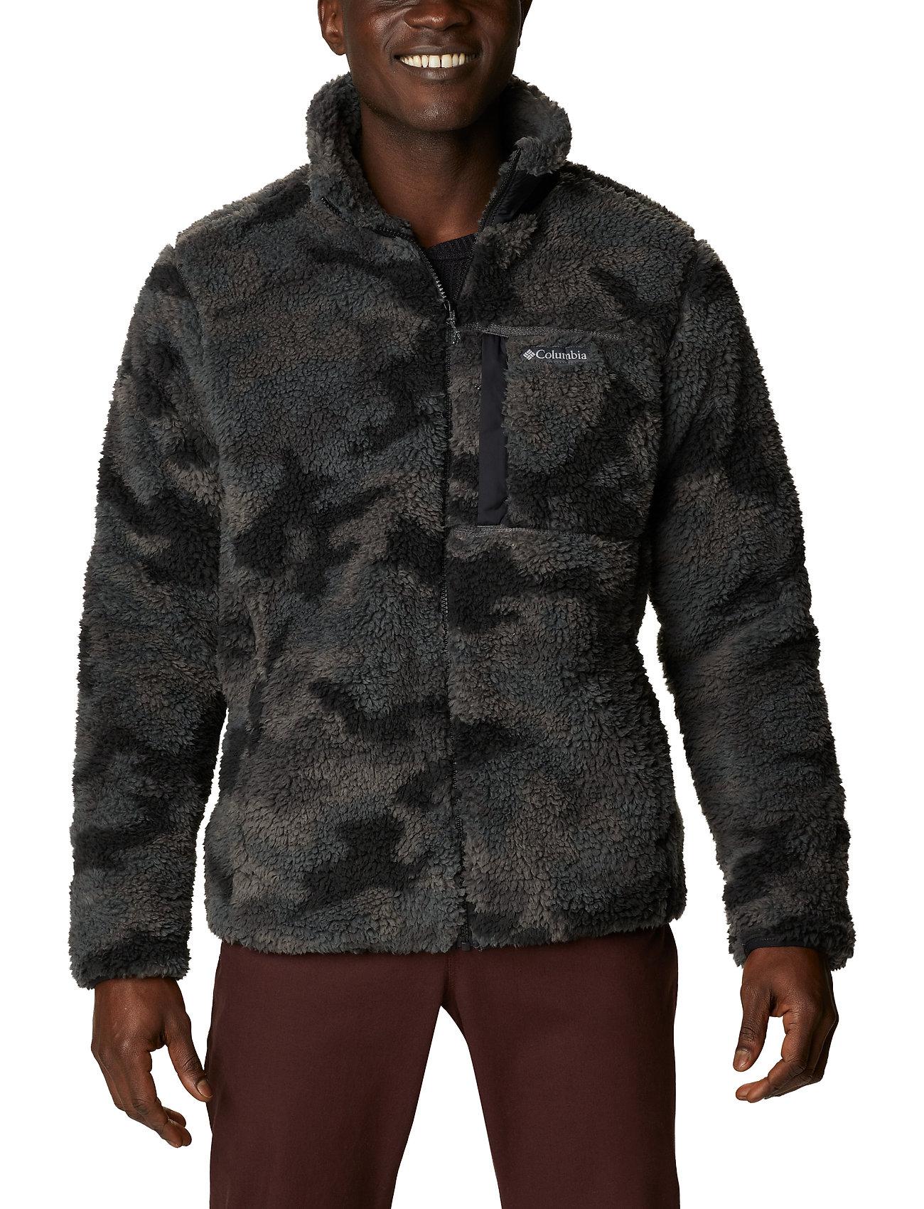Columbia - Winter Pass Print Fleece Full Zip - swetry pluszowe - black camo - 0