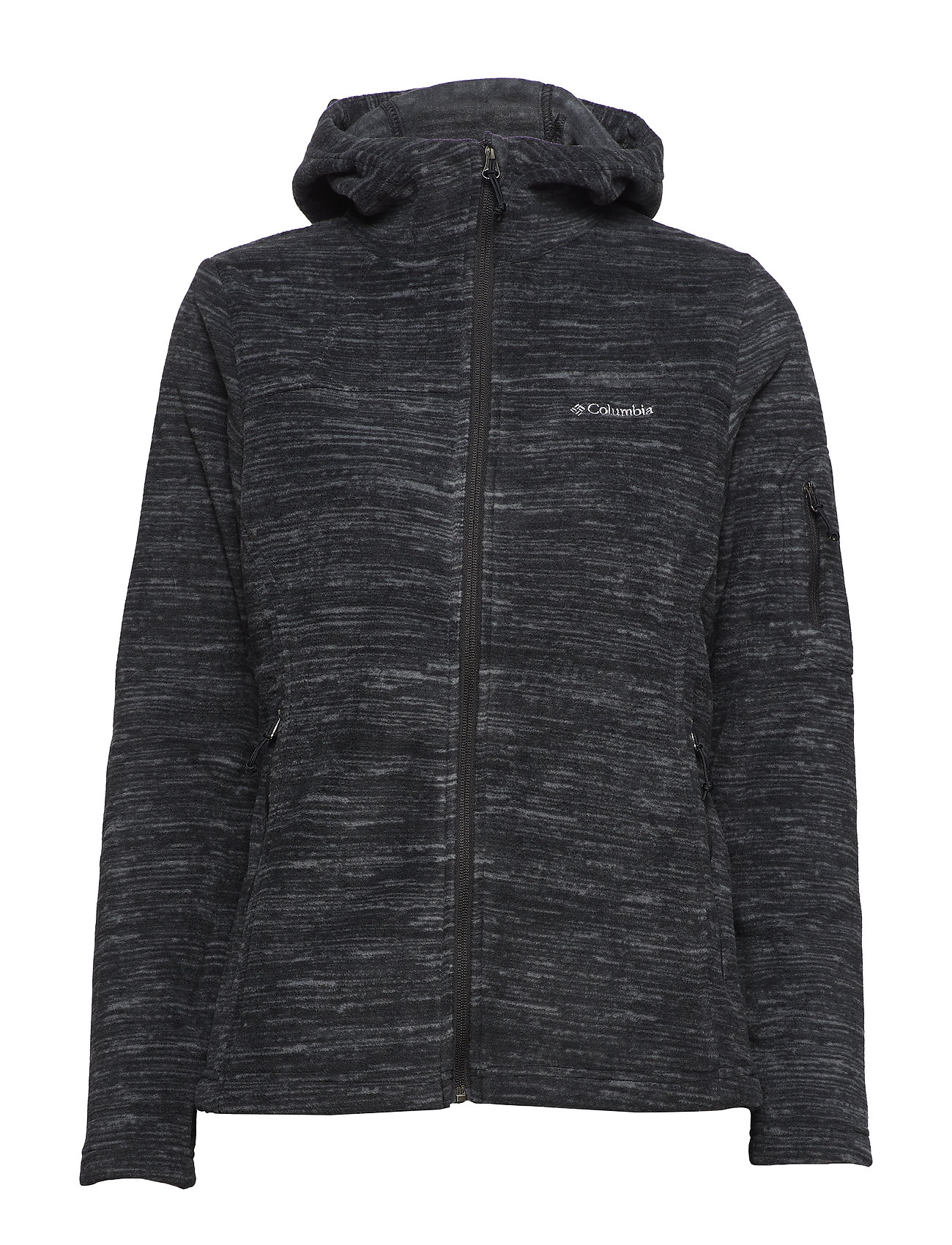 Columbia Fast Trek™ Hooded Jacket - BLACK