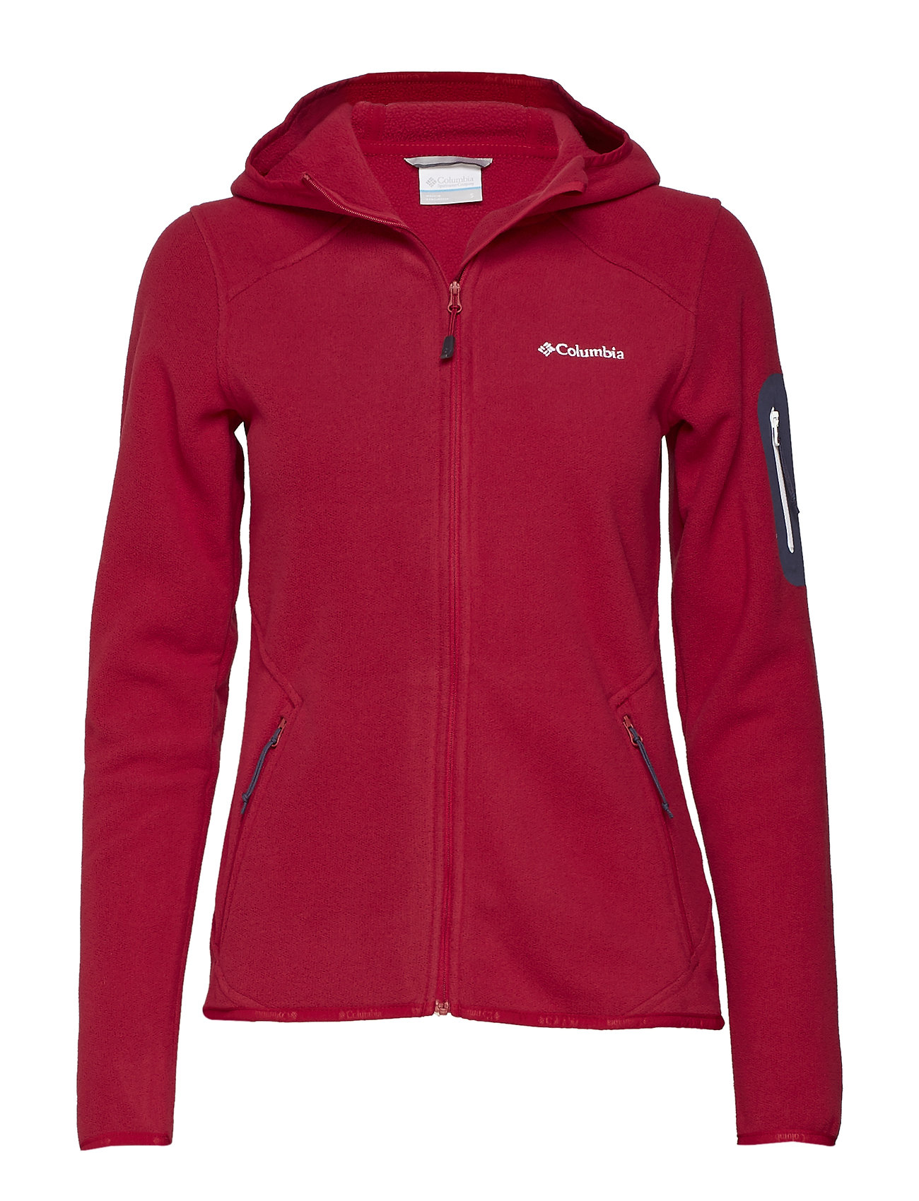 Columbia Outdoor Novelty™ Hooded Fleece - POMEGRANATE