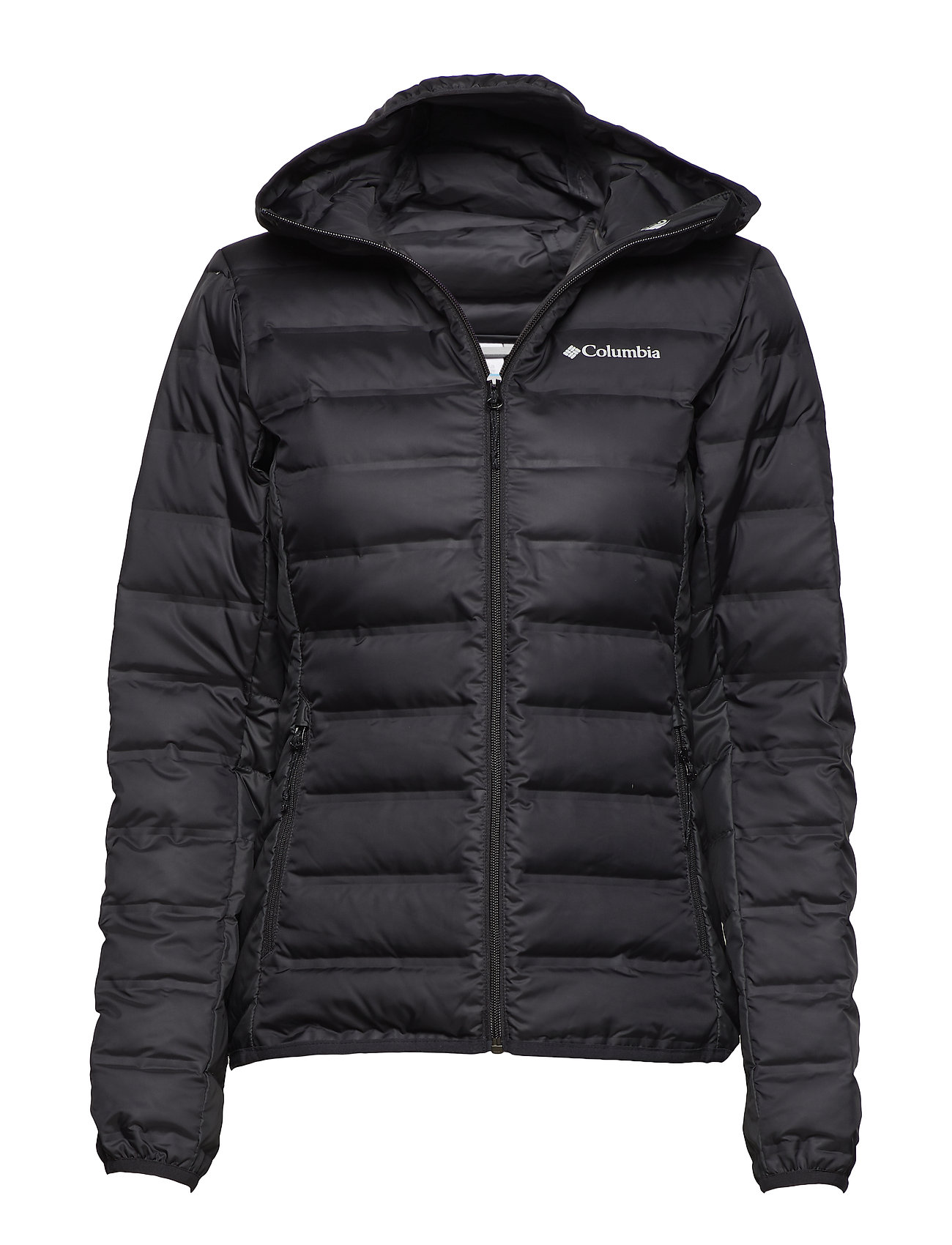 Lake 22? Hooded Jacket Foret Jakke Sort COLUMBIA