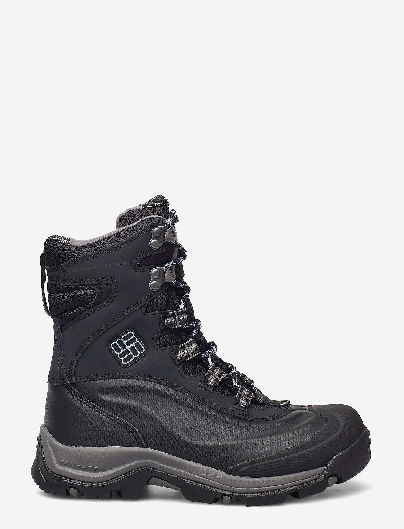 Columbia - BUGABOOT PLUS III OH WMN - flat ankle boots - black, dark mir - 1