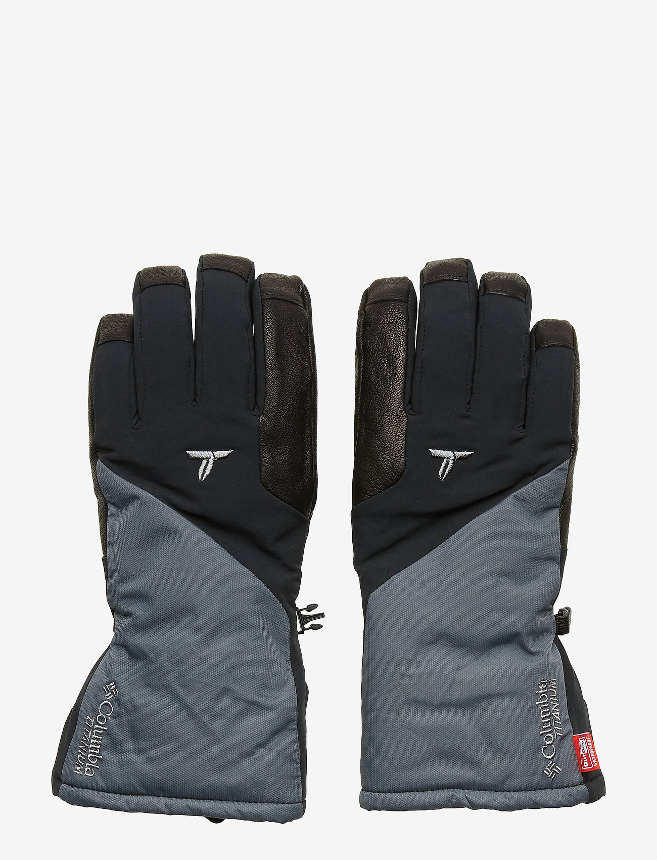 Columbia - M Powderkeg VOF Glove - akcesoria - black - 0