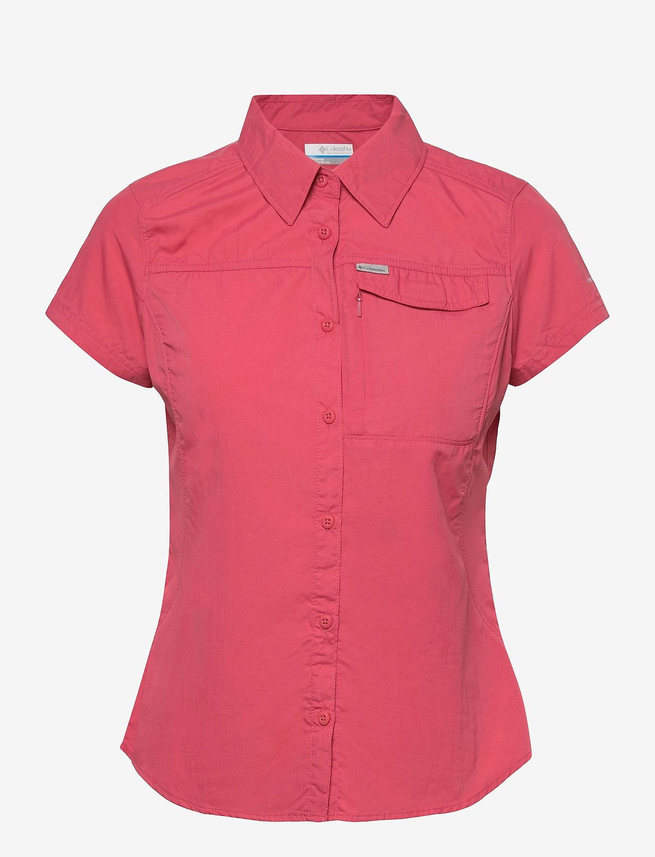 Columbia - Silver Ridge 2.0 Short Sleeve - koszule z krótkim rękawem - rouge pink - 0