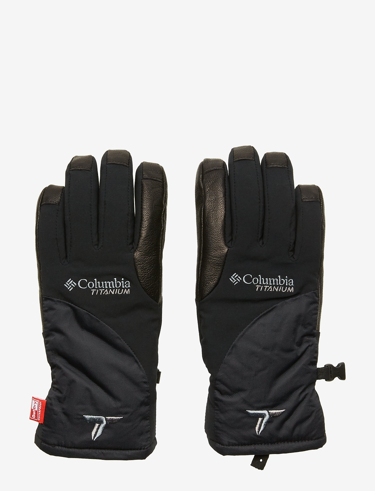Columbia - W Powderkeg II Glove - akcesoria - black - 0