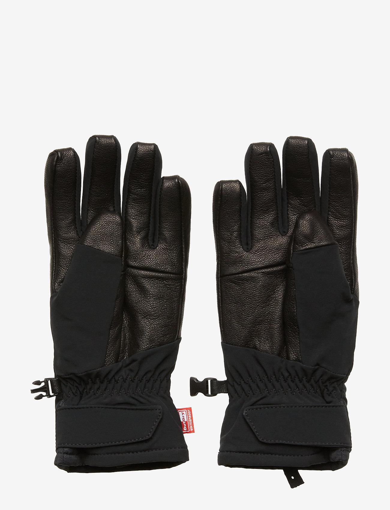 Columbia - W Powderkeg II Glove - akcesoria - black - 1