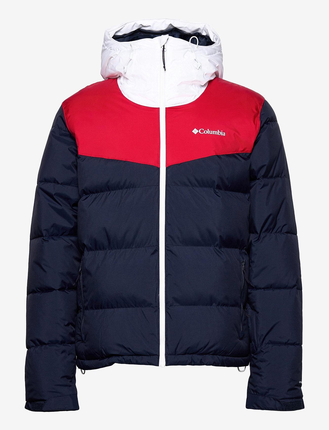 Columbia - Iceline Ridge™ Jacket - kurtki narciarskie - collegiate navy, mountain red, white - 1