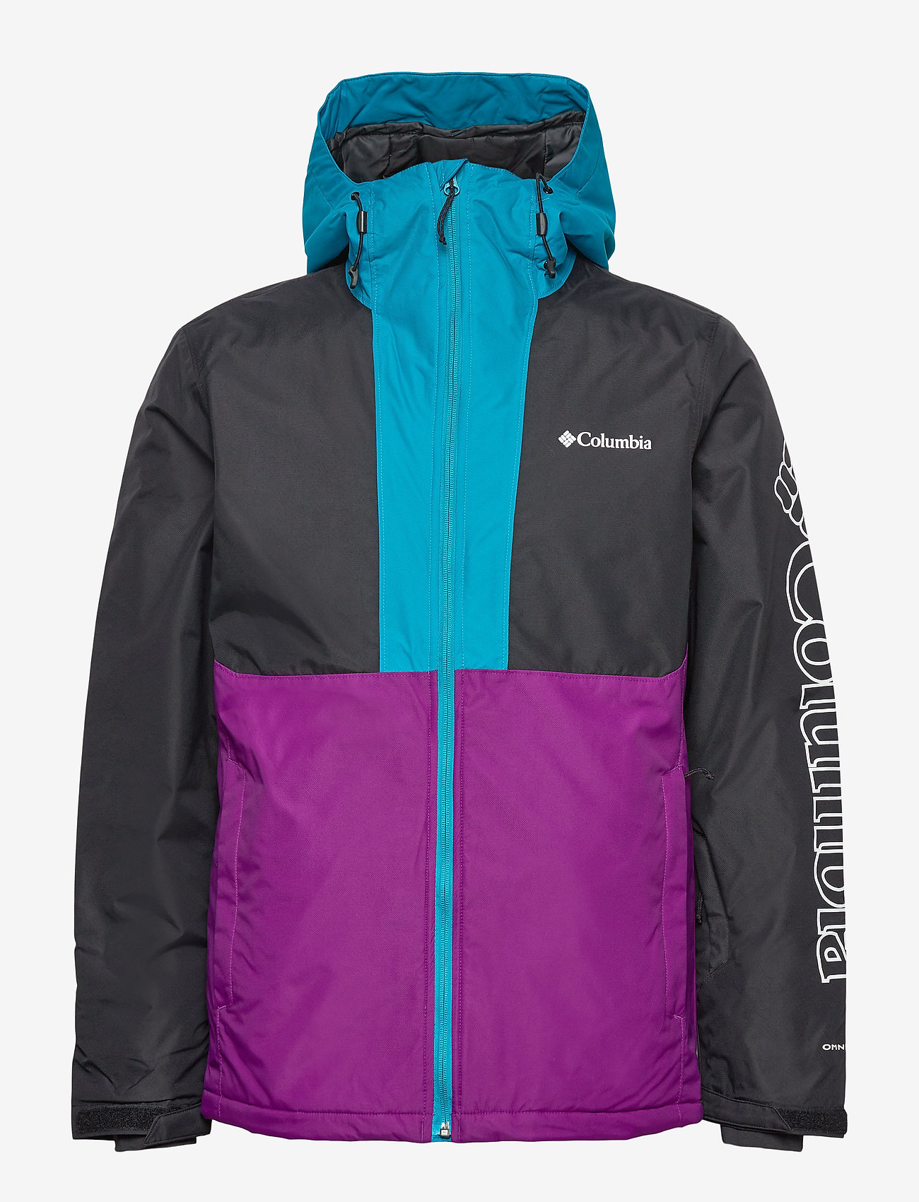 Columbia - Timberturner Jacket - kurtki narciarskie - plum, black, fj - 0