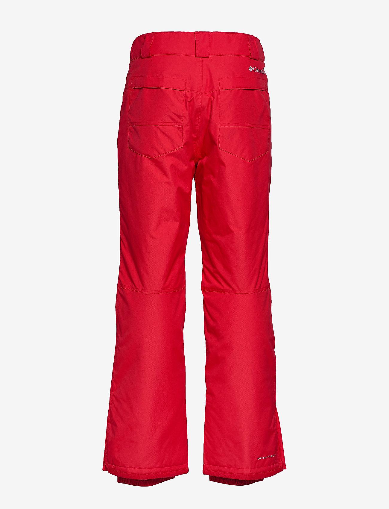 Columbia - Bugaboo IV Pant - spodnie narciarskie - mountain red - 1