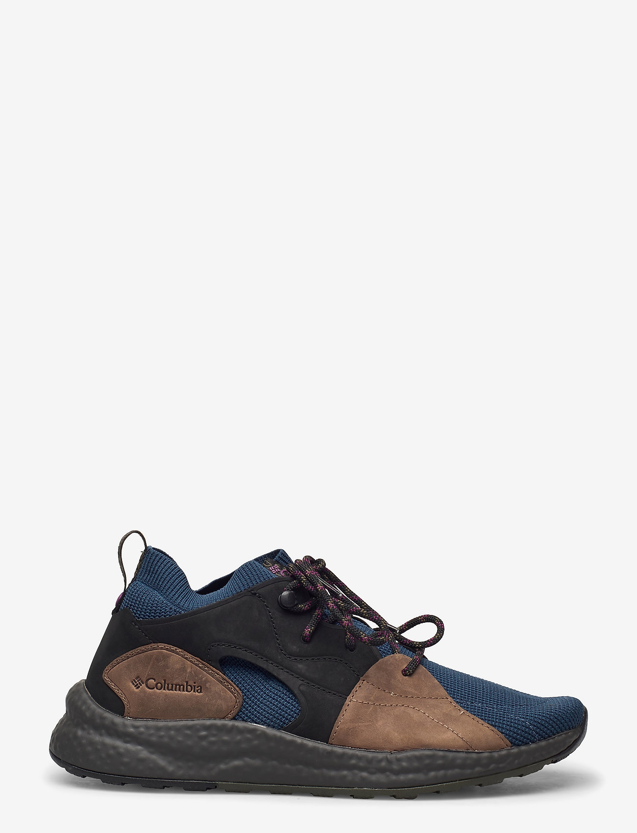 Columbia - SH/FT OUTDRY MID - tenis - petrol blue, wi - 0
