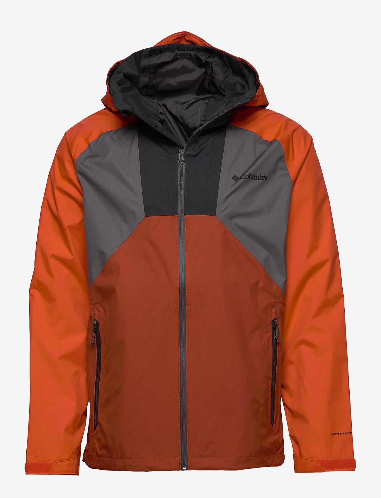 Columbia - Rain Scape Jacket - kurtki turystyczne - city grey, wild - 0